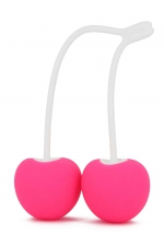 Boules de Geisha Cherry Love : Pour le Fun, le plaisir et la musculation du périnée, adoptez les boules de Geisha cerises de la marque Love To Love.